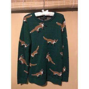 Men's Fox Sweater